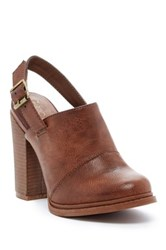 Groove Sassy Clog Brown