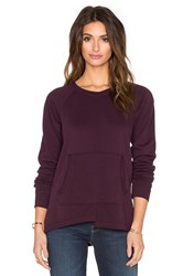Wilt French Terry Easy Pocket Sweatshirt Maroon