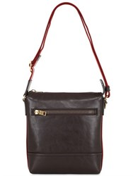 Bally Trezzini Leather Crossbody Bag