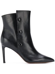 L'autre Chose Side Button Stiletto Boots 60