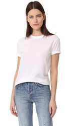 Alexander Wang T By Crew Neck Tee White