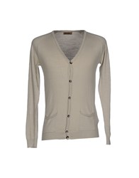 Eredi Del Duca Cardigans Light Grey