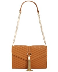 Inc International Concepts Yvvon Crossbody Only At Macy's Saddle