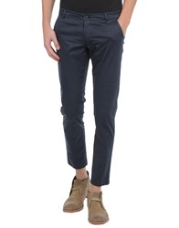 One Seven Two Trousers Casual Trousers Men Dark Blue