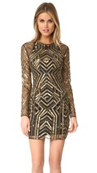 Parker Black Isabelle Dress Gold