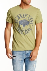 Artisan De Luxe Evan Graphic Tee Green