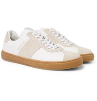 Paul Smith Levon Leather And Suede Sneakers Neutral