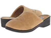 Foamtreads Sara Ft Champagne Women's Slippers Gold