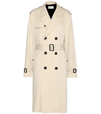 Saint Laurent Trench Coat Beige