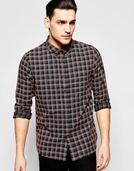 Lee 101 Button Down Shirt Black