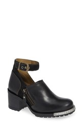 Fly London Lepu Platform Pump Black Anthracite