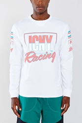 Icny 1990 Long Sleeve Racing Tee White