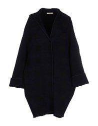 Celine Celine Coats And Jackets Coats Women Dark Blue
