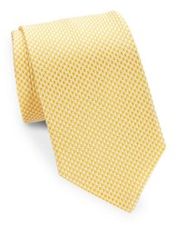 Brooks Brothers Classic Houndstooth Tie Yellow