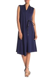 Lafayette 148 New York Convertible Nico Belt Dress Raisin