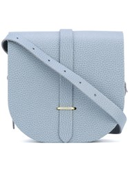 The Cambridge Satchel Company Saddle Bag Women Calf Leather One Size Grey