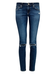 Alexa Chung For Ag The Legging Mid Rise Skinny Jeans