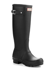 Hunter Original Tall Wellington Rain Boots Black