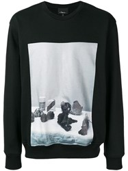 3.1 Phillip Lim Photographic Print Sweatshirt Black