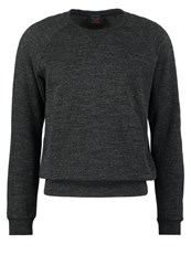 Scotch And Soda Long Sleeved Top Moon Rock Melange Anthracite