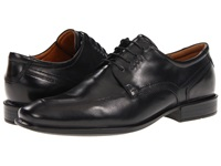 Ecco Cairo Apron Toe Tie Black Oxford Leather Men's Lace Up Moc Toe Shoes