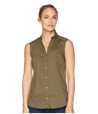 Outdoor Research Rumi Sleeveless Shirt Fatigue Clothing Green