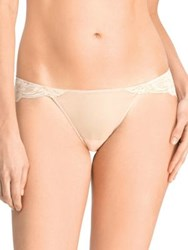 Natori Foundations Envious Bikini Brief Light Cafe Ivory Black Cafe