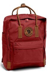 Fjall Raven Men's Fjallraven 'Kanken No. 2' Backpack Red Deep Red