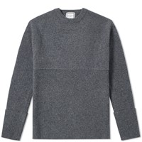Wooyoungmi Textured Crew Knit Grey