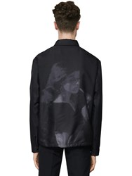 Undercover Embroidered Tech Jacket Black