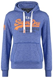 Superdry Hoodie Mazarine Blue Jaspe Royal Blue
