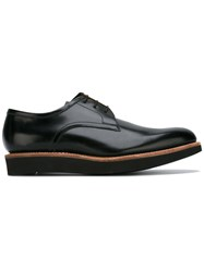 Grenson Lace Up Derby Shoes Black