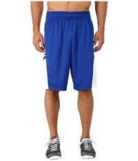 Adidas Team Speed Practice Shorts Collegiate Royal Dgh Solid Grey White Men's Shorts Blue