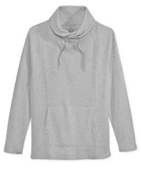 American Rag Men's Raw Edge Funnel Neck Sweatshirt Only At Macy's Ar Pewter Hthr