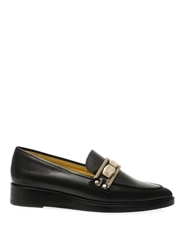 Toga Pulla Metal Detail Leather Loafers