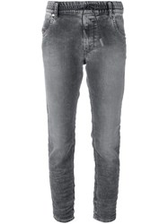 Diesel Straight Leg Jeans Grey