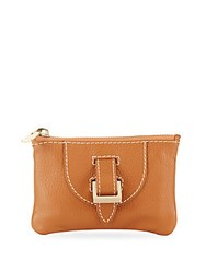 Meli Melo Thela Leather Coin Purse Tan