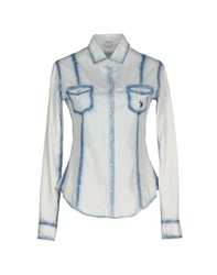 U.S. Polo Assn. U.S.Polo Assn. Denim Denim Shirts Women Blue