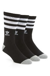 Adidas Men's 3 Pack Original Roller Crew Socks