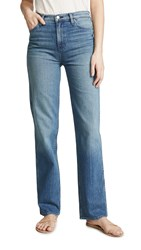 Hudson Faye High Rise Straight Jeans Stray Heart