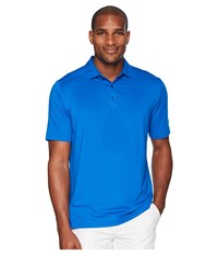 Callaway Opti Dritm Micro Hex Solid Polo Magnetic Blue Clothing