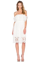 Reverse Elope Dress White