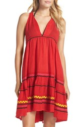 Muche Et Muchette Women's Mira Cover Up Dress Red