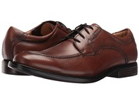 Dockers Franklin Dark Tan Burnished Full Grain Men's Lace Up Casual Shoes Brown