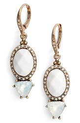Jenny Packham Women's Wanderlust Drop Earrings Gold White Multi