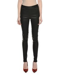 Tom Ford Lamb Leather Full Length Leggings Black