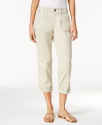 Styleandco. Style Co. Cropped Cargo Pants Only At Macy's Stonewall