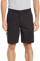 Quiksilver Waterman Collection Maldive Regular Fit Cargo Shorts Black