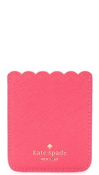 Kate Spade Scallop Adhesive Phone Pocket Pink Confetti