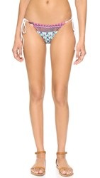 Clover Canyon Butterfly Kaleidoscope Bikini Bottoms Multi